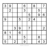 3x3 Very Easy Sudoku 10