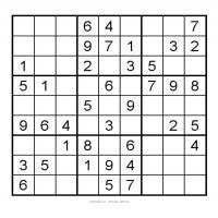Very Easy Sudoku Printable 3X3 Very Easy Sudoku 4