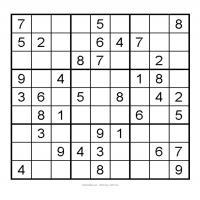 3x3 Very Easy Sudoku 6