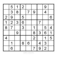 Very Easy Sudoku Printable 3X3 Very Easy Sudoku 8