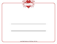 Happy Valentine's Day Certificate