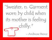 Bierce Mothers Quotation