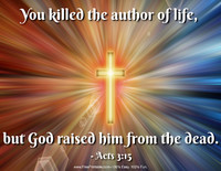 Easter Quotation Acts 3:15