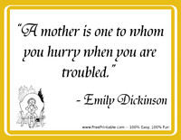 Dickinson Mothers Quotation
