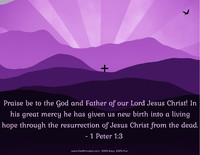 Easter Quotation 1 Peter 1:3