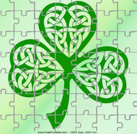 Celtic Shamrock Puzzle