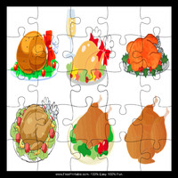 Six Turkeys Puzzle