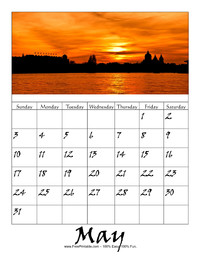 May 2020 Picture Calendar