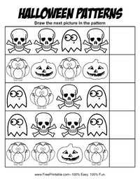 Halloween Patterns 1