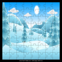 Snowy Hills Puzzle