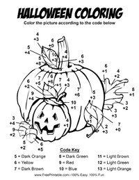 Halloween Addition Coloring