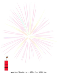 Fire Cracker Stationery