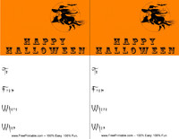 Witch Halloween Invitation