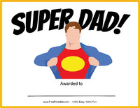 Super Dad Award
