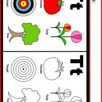 Alphabet T Coloring Worksheet