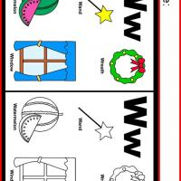Alphabet W Coloring Worksheet