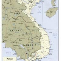 Asia- Vietnam Political Map