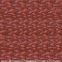 Brick Face Stereogram