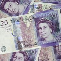 British Bank Notes Background Picture