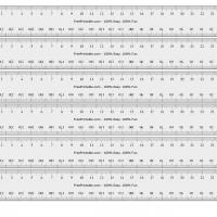 image relating to Printable Mm Ruler titled Centimeter-Millimeter Ruler