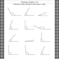 Classify Geometric Angles