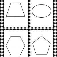 Complex Shapes Flash Card