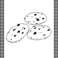 photo relating to Cookie Printable named Cookies Flash Card