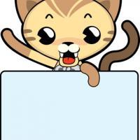 Cute Cat Name Tag