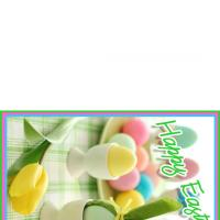 Easter Egg Bunny Card