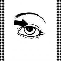 eyelashes coloring pages - photo#18