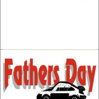 Father's Day Car