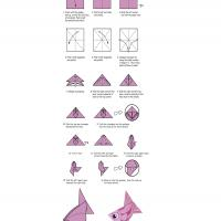 how to do origami fish