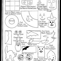 picture relating to Halloween Craft Printable titled Halloween Jobs Lead
