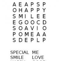 I Am Special Word Search