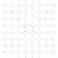 Large Octagon Graph Paper
