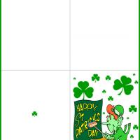Leprechaun's Happy St. Patrick's Day Poster