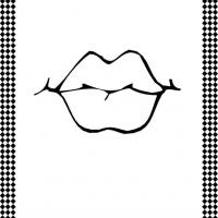 Lips Flash Card