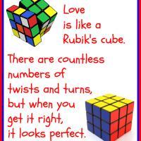 Love Is Like A Rubik S Cube