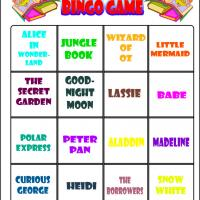 Love To Read Bingo 8