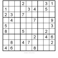 photo about Medium Sudoku Printable referred to as Medium Sudoku 4