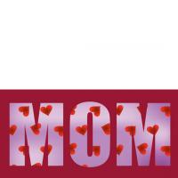Mom Hearts Card