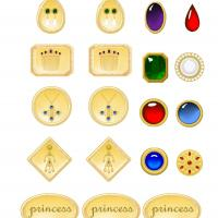 Princess Jewel Stickers