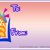 Slice Of Cake Gift Card