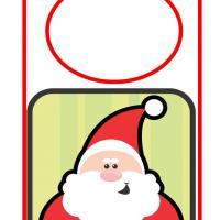 Smiling Santa Door Hanger  sc 1 st  FreePrintable.com & Printable Fun