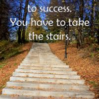 Take the Stairs Quote