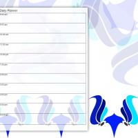 The Blue Mask Daily Planner