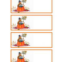 Turkey Sitting on a Pumpkin