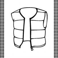 Vest Flash Card