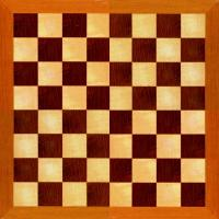 picture relating to Chess Board Printable identified as Picket Chessboard